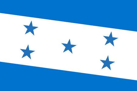 bandera honduras: Bandera Honduras. De cerca. Foto de archivo