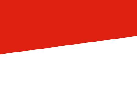 Monaco Flag. Close up. photo