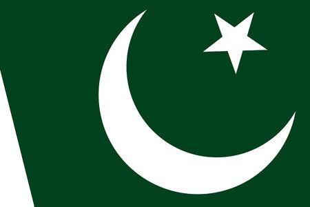 pakistan flag: Pakistan Flag. Close up.