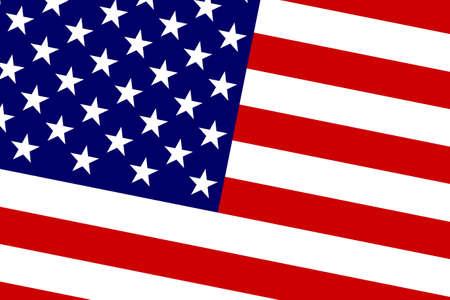 commonwealth: USA Flag. Close up.