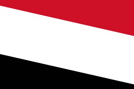 yemen: Yemen Flag. Close up.