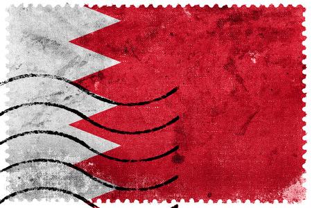 sello postal: Bandera de Bahrein - antiguo sello postal