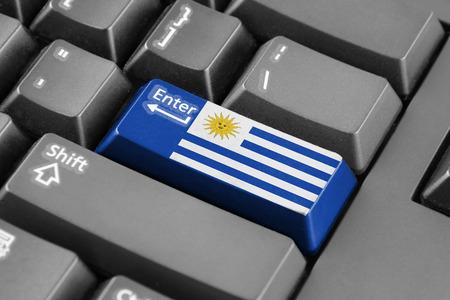 bandera de uruguay: entra en el botón con la bandera de Uruguay