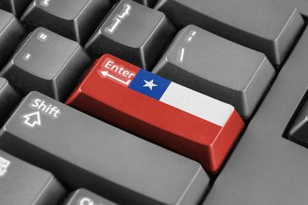 flag of chile: entra en el bot�n con la bandera de Chile