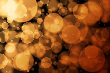 light brown: Brown bokeh abstract light background Stock Photo
