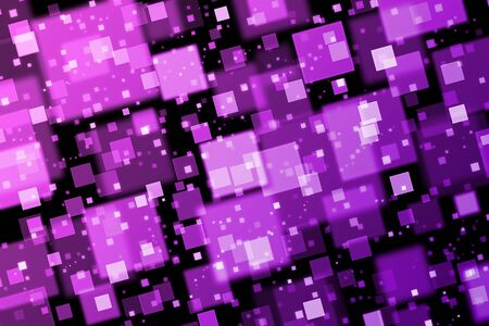 quadrat: Pink and purple squares. Abstract  background with bokeh effect