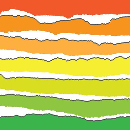 changed: Torn Paper in Vector Format. Color can be changed by one click Illustration
