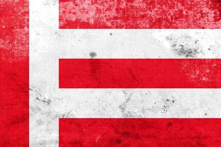 eindhoven: Flag of Eindhoven, with a vintage and old look