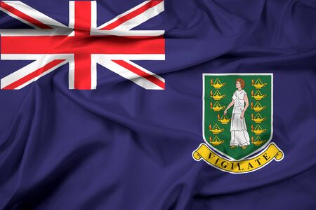 polity: Waving Flag of British Virgin Islands