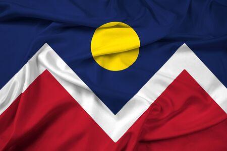 denver: Waving Flag of Denver, Colorado