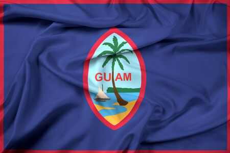unincorporated: Waving Flag of Guam