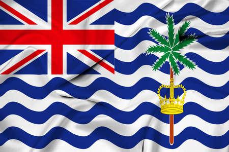 indian ocean: Waving Flag of British Indian Ocean Territory
