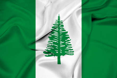 education policy: Waving Flag of Norfolk Island