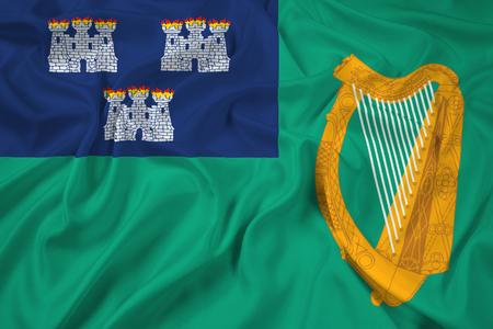 dublin: Waving Flag of Dublin