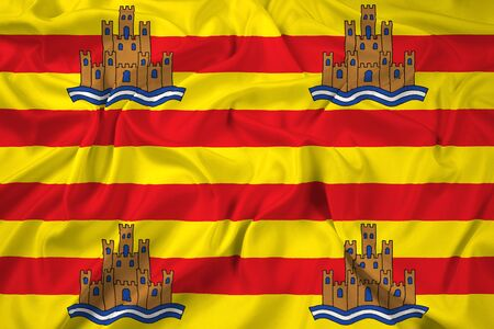 ibiza: Waving Flag of Ibiza