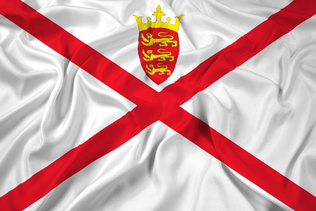 bailiwick: Waving Flag of Jersey
