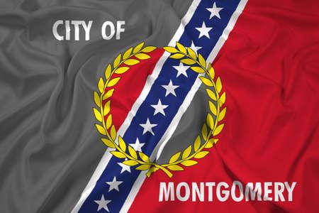 montgomery: Waving Flag of Montgomery, Alabama