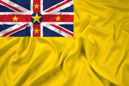 niue: Waving Flag of Niue