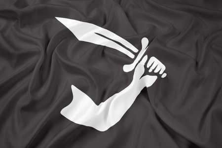 thomas: Waving Thomas Tew Pirate Flag