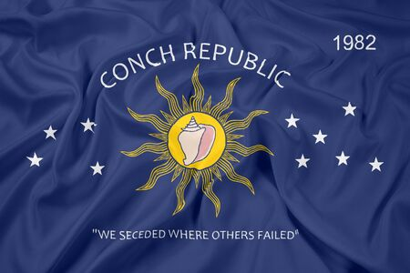 conch: Waving Flag of the Conch Republic (Key West, Florida)