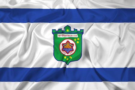 aviv: Waving Flag of Tel Aviv
