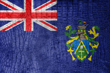 pitcairn: Flag of Pitcairn Islands, on a luxurious, fashionable canvas