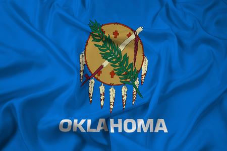 oklahoma: Waving Flag of Oklahoma State
