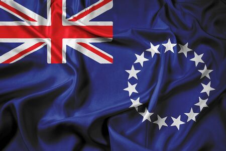 polity: Waving Flag of the Cook Islands