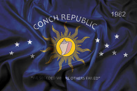 key west: Waving Flag of the Conch Republic (Key West, Florida)