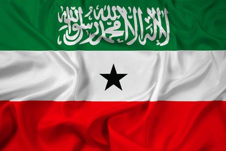 somaliland: Waving Flag of Somaliland