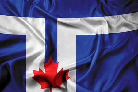 toronto: Waving Flag of Toronto