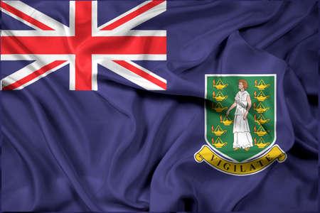 virgin islands: Waving Flag of British Virgin Islands