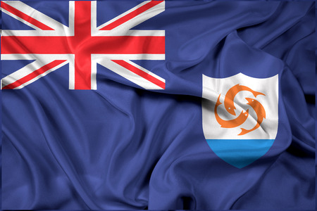 polity: Waving Flag of Anguilla