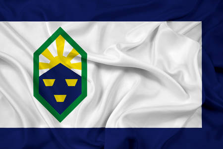 colorado flag: Waving Flag of Colorado Springs, Colorado