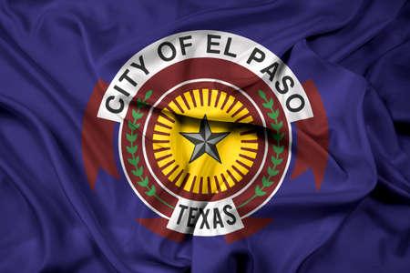education policy: Waving Flag of El Paso, Texas