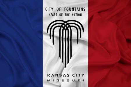 KANSAS: Waving Flag of Kansas City, Missouri