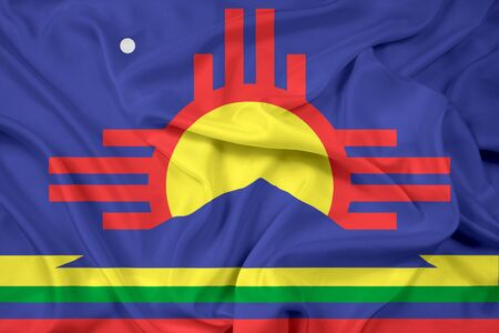 roswell: Waving Flag of Roswell, New Mexico