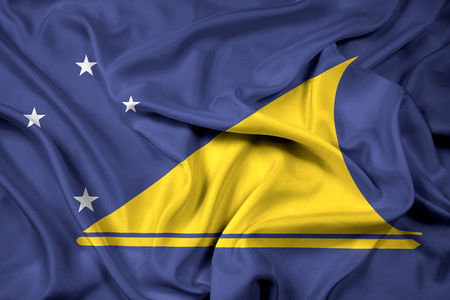 tokelau: Waving Flag of Tokelau