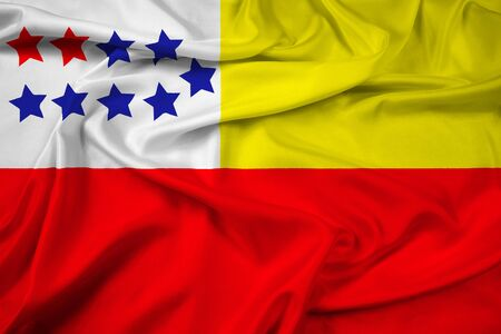 polity: Waving Flag of Chone, Ecuador
