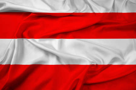 Waving Flag of Brno, Czechia