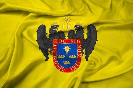 bandera de peru: Agitando la bandera de Lima, Perú