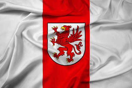bandera de polonia: Agitando la bandera de West Pomerania, Polonia