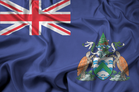 the ascension: Waving Flag of Ascension Island, Canada