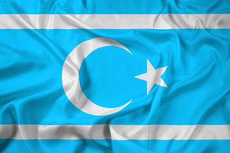 iraqi: Waving Flag of Iraqi Turkmen Front