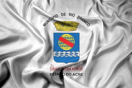 acre: Waving Flag of Rio Branco, Acre, Brazil