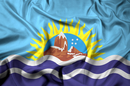 santa cruz: Waving Flag of Santa Cruz Province, Argentina