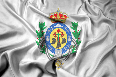 santa cruz de tenerife: Waving Flag of Santa Cruz de Tenerife, Spain
