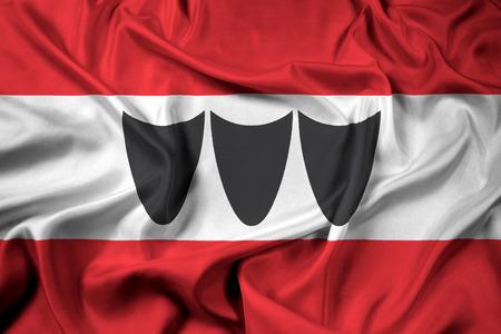 trebic: Waving Flag of Trebic, Czechia