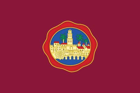 Bandera De Córdoba España Formato Vectorial Ilustraciones Vectoriales Clip Art Vectorizado Libre De Derechos Image 68946308