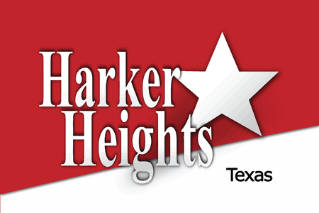 Flag of Harker Heights, Texas, USA. Vector Format
